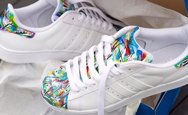 shoes chaussures ? lacets sneakers colorful