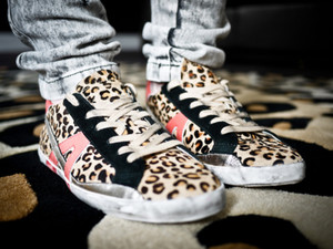 sneakers leopard betty brown shoes white shoes yellow shoes