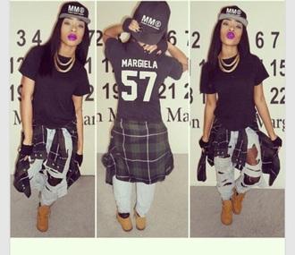 shirt black t-shirt black top style