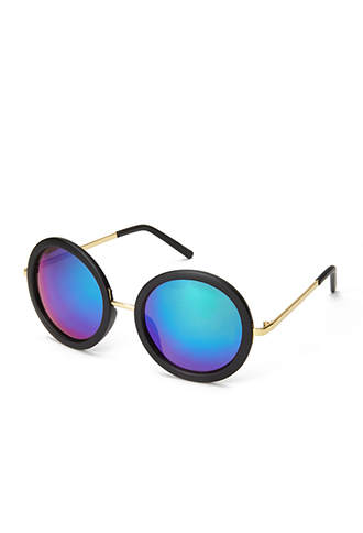 F1308 Cool Girl Round Sunglasses | FOREVER 21 - 1000071308