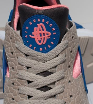 2013 Nike Air Huarache Le Grey Blue Pink Cement OG QS | eBay