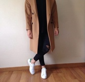 beige,womenscoat,smart,long,smart jacket,smart coat,longcoat