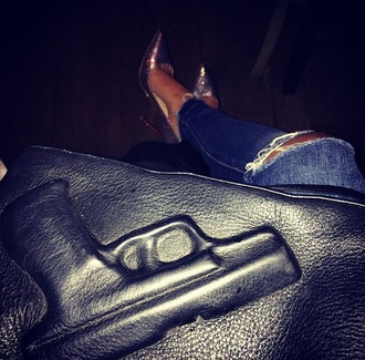 bag black gun bag purse