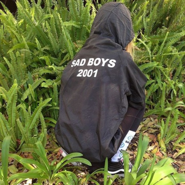 jacket grunge pale black sad cool