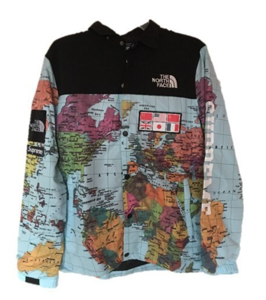 jacket north face x supreme
