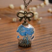 jewels,pendant,bronze,clear,blue