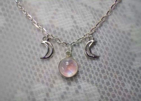 jewels rainbow moon necklace neckless friends pizza pls book