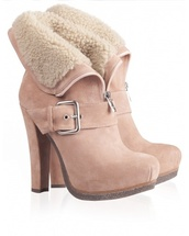 shoes,boots,nude,anckle booties,booties,ankle boots,nude boots,roll over anckle,brown,high heel ankle boots,chestnut,lace up,combat boots,lovely,fa