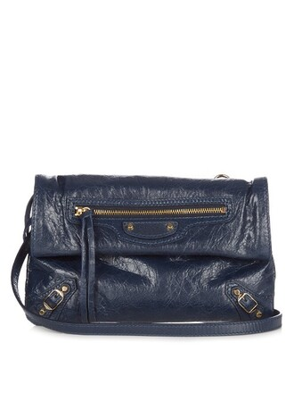 leather clutch mini classic clutch leather navy bag