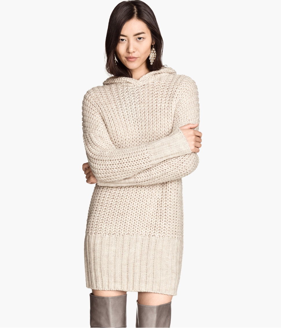 Knit Hooded Sweater $19.95