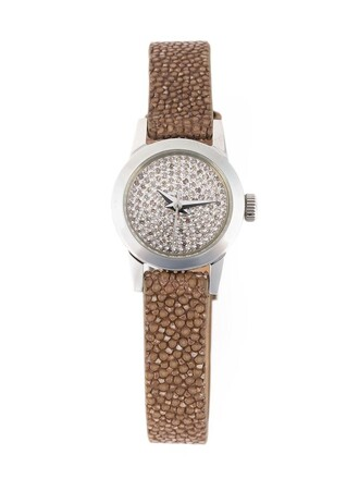 cute watch brown jewels