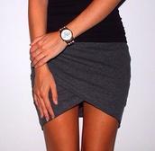 skirt,grey,sexy