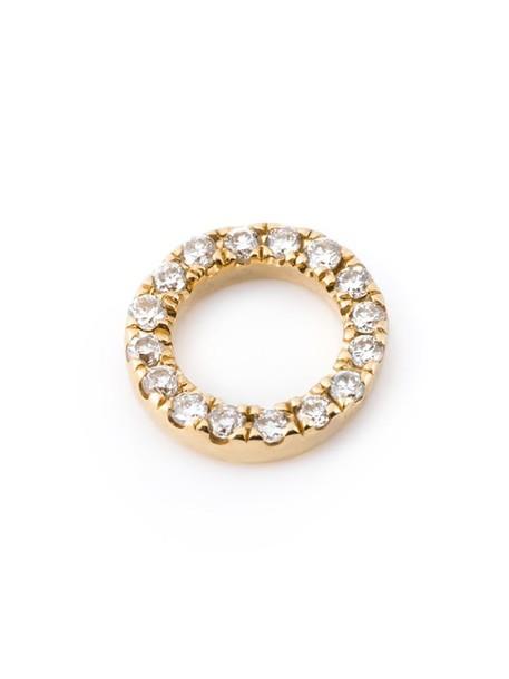 LOQUET women pendant gold grey metallic jewels