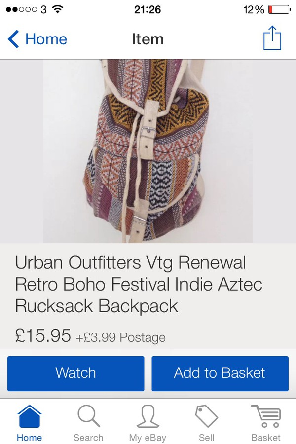 bag atec backpack rucksack indie hipster