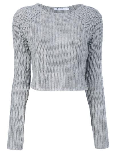 T By Alexander Wang Cropped Sweater -  - Farfetch.com