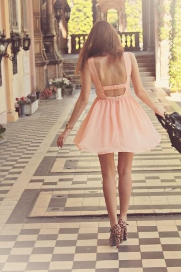 Спина платья