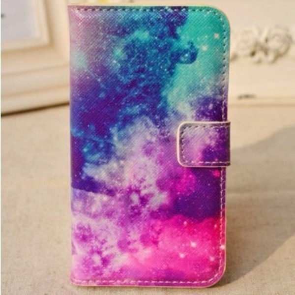 jewels galaxy print cover phone