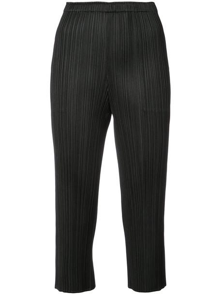 Pleats Please By Issey Miyake women black pants