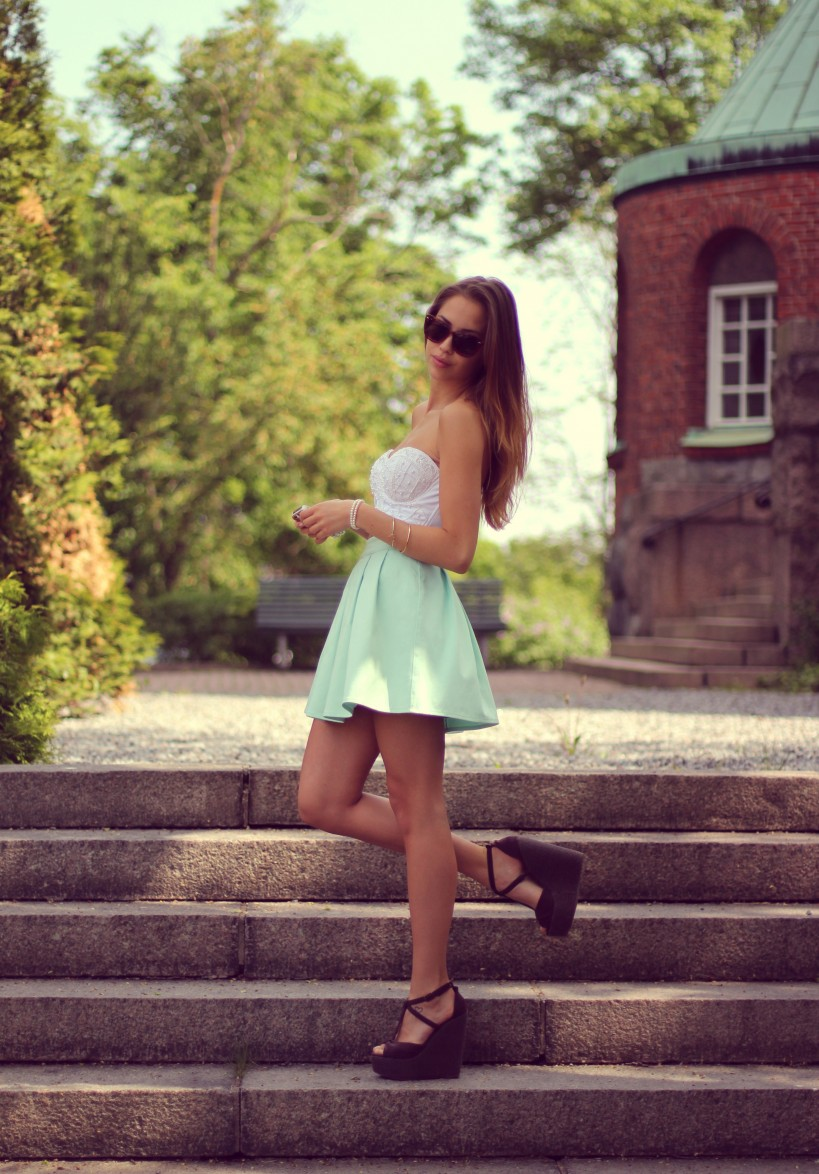 Wearing the ivyrevel skirt «  kenzas
