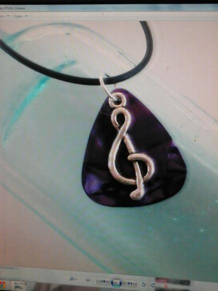 jewels purple necklace