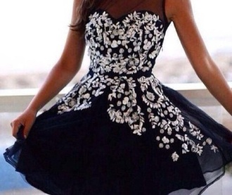 dress beaded dress black prom dress pretty dress beautiful dress stunning dress gorgeous dress please help me find it i really want it need it asap short black dress love it my future prom dress black dress need it now asap short dress no straps beads flowy dress really want it