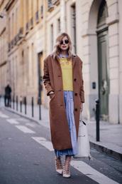 bekleidet,blogger,coat,sweater,dress,bag,shoes