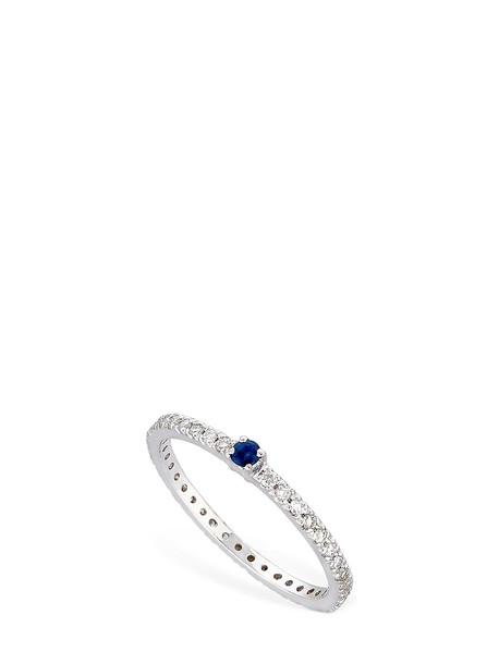 VANZI Annagreta Diamond & Sapphire Ring in blue