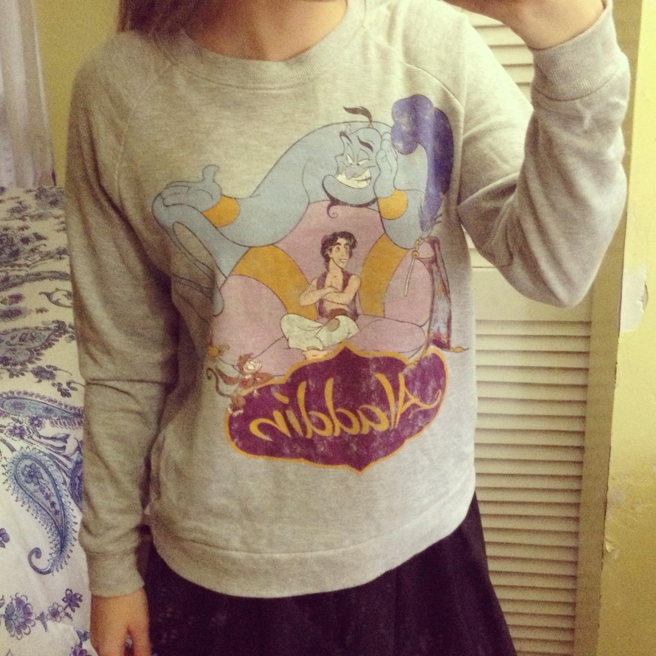 Forever 21 disney's aladdin sweatshirt from bellabelle on storenvy