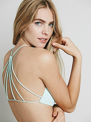 Free people strappy back bra