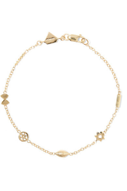 Alison Lou mini gold bracelet gold jewels