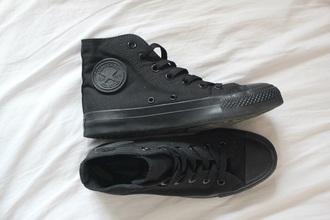 shoes black vans