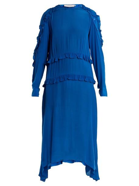 Preen Line dress midi dress midi blue