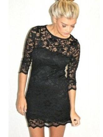 black dress lace dress short dress dress
