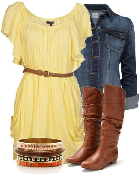 yellow dress short dresses
