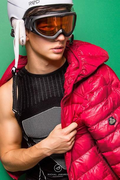 perla oreneta blogger down jacket winter sports