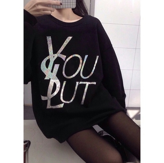 sweater holographic grunge pale alternative on point clothing trending dope slut grid tights