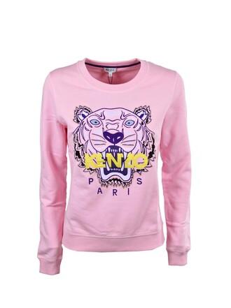 sweatshirt classic tiger rose sweater