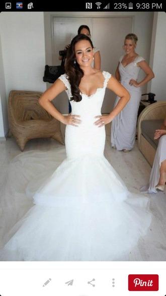 dress wedding dress tulle wedding dress