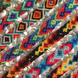 50 peruvian cusco friendship bracelets woven wool wholesale bulk lot handwoven on ebay!