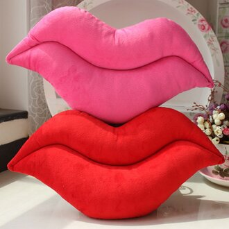 home accessory lip lips lip cushion pillow red lipstick lip pillow lips pillow lips cushion