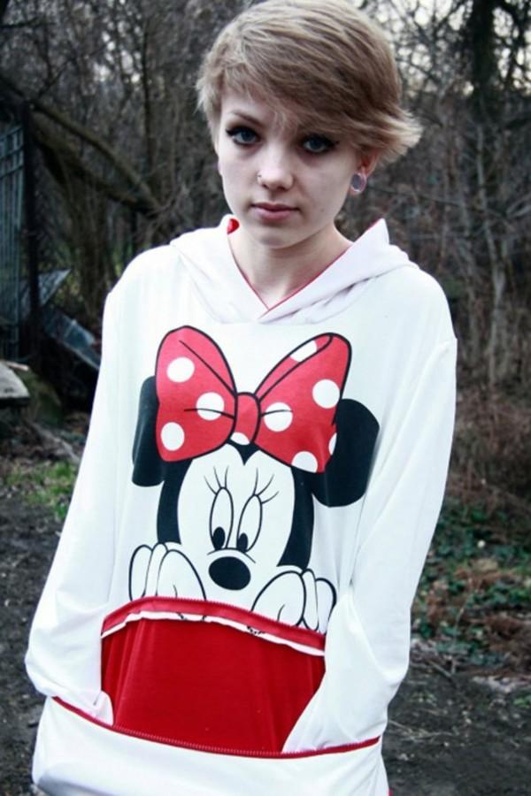 kcloth kcloth sweatshirt sweatsshirt mickey mouse minnie mouse