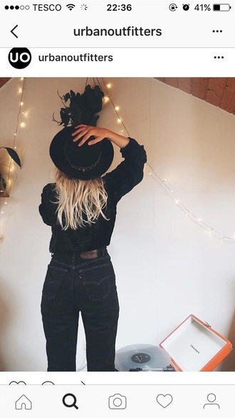 jeans black grunge hot trendy coachella urban outfitters black jeans indie levi's all black everything