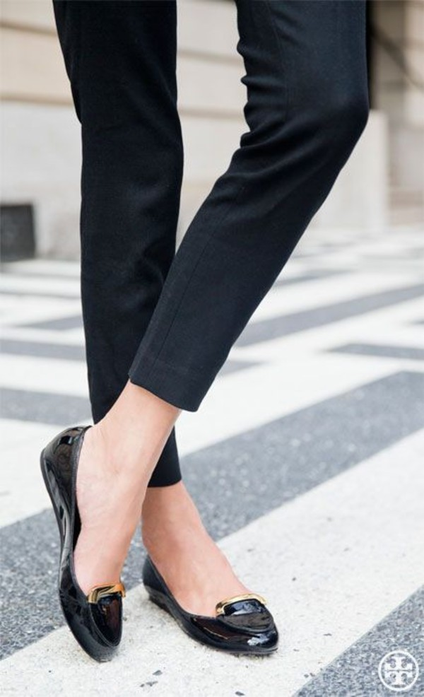 Shoes Black Flats Pants Audrey Hepburn Wheretoget
