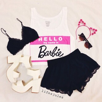 dress lace black cute barbie cool tumblr hipster tumblr outfit
