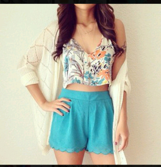 shorts jacket tank top blue shorts dress