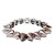 Spike Stretch Bracelet - Silver | olive   piper