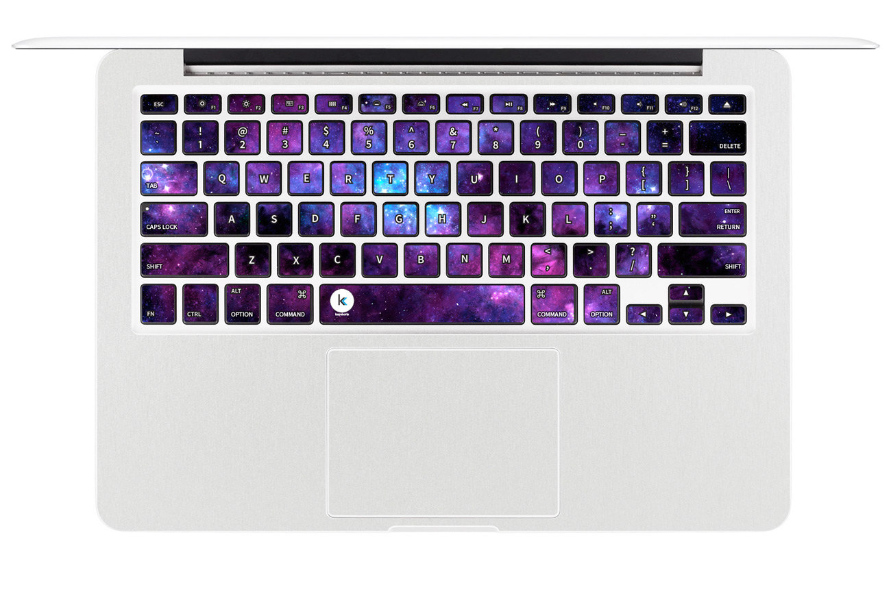 Stardust Decal Keyboard Sticker For Macbook Mac Lenovo