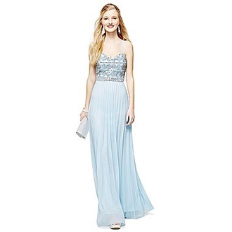dress pastel blue dress