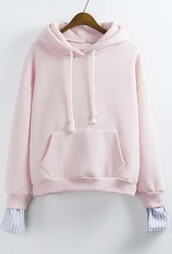 sweater,light pink,cute,pastel,girly,fashion,style,trendy,pink,cool,beautifulhalo,girl,girly wishlist,pink hoodie,hoodie,pink sweater