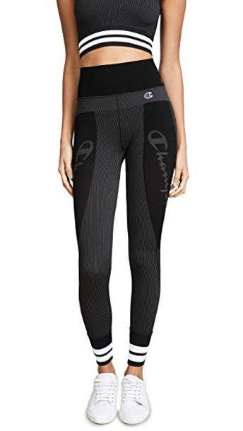 Champion Premium Reverse Weave leggings black pants